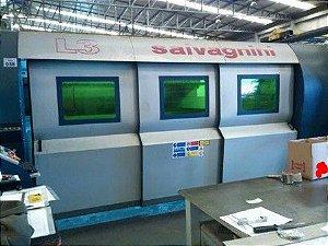 Máquina de corte a laser Fibra otica 3000 Watts SALVAGNINI