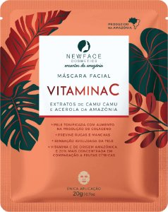 Máscara Facial Vitamina C 20g – New Face
