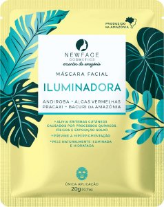 Máscara Facial Iluminadora 20g – New Face