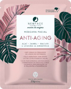 Máscara Facial Anti Aging 20g – New Face