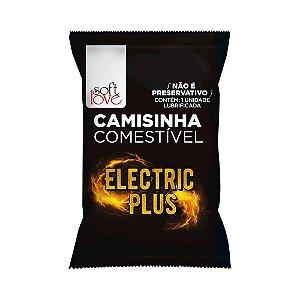 CAMISINHA COMESTÍVEL FUNCIONAL ELECTRO PLUS COM 1 UNID. SOFT LOVE