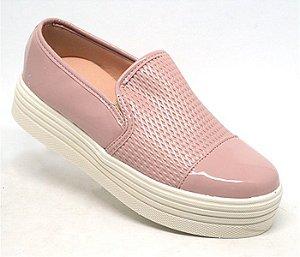 084a3a14ac3 Tênis Feminino Doma Shoes Plataforma Rosê Floral - Originalsplace