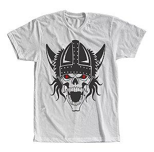 Camiseta Caveira Viking