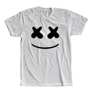 Camiseta Dj Marshmello Face