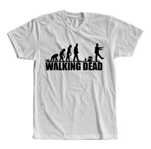 Camiseta The Walking Dead Evolução