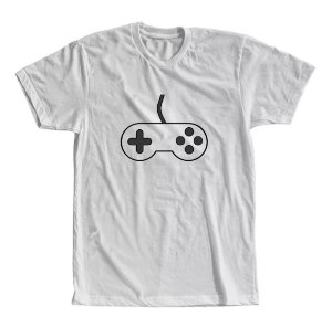 Camiseta Controle do Game