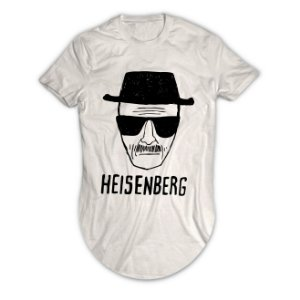Camiseta Longline Heisenberg Breaking Bad
