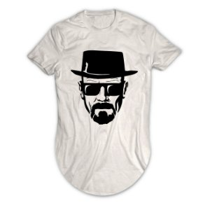 Camiseta Longline Walter White Breaking Bad