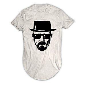 Camiseta Longline Walter White Breaking Bad