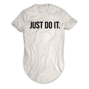 Camiseta Longline Just do It