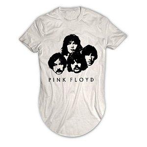 Camiseta Longline Pink Floyd Face