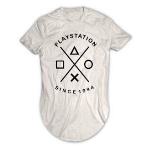 Camiseta Longline Playstation Since 1994