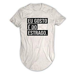 Camiseta Longline Eu Gosto é do Estrago