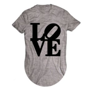 Camiseta Longline Love