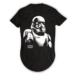 Camiseta Longline Star Wars Stormtroopers