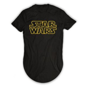 Camiseta Longline Star Wars