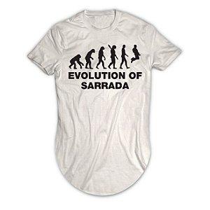 Camiseta Longline Evolution Of Sarrada