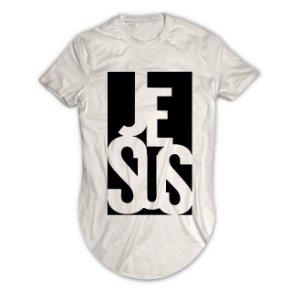 Camiseta Longline Jesus