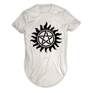 Camiseta Longline Supernatural
