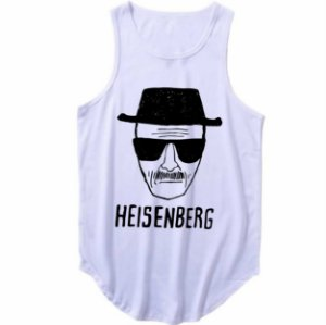 Regata Longline Heisenberg Breaking Bad