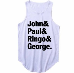 Regata Longline The Beatles John, Paul, Ringo e George