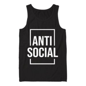 Regata Masculina Anti Social