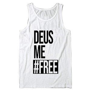 Regata Masculina Deus Me Free