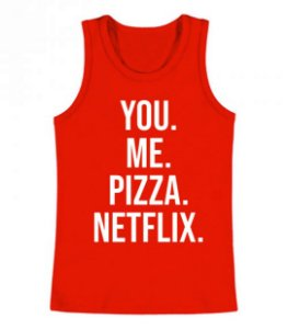 Regata Masculina You Me Pizza Netflix