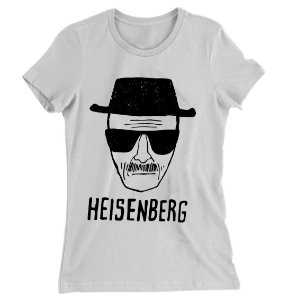 Camiseta Baby Look Heisenberg Breaking Bad