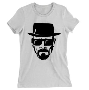 Camiseta Baby Look Walter White Breaking Bad