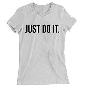 Camiseta Baby Look  Just do It
