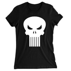 Camiseta Baby Look O Justiceiro Diablo
