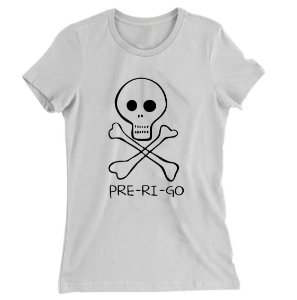 Camiseta Baby Look Pre - Ri - Go BREAKING BAD