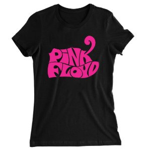 Camiseta Baby Look Pink Floyd