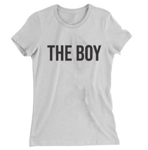 Camiseta Baby Look The Boy