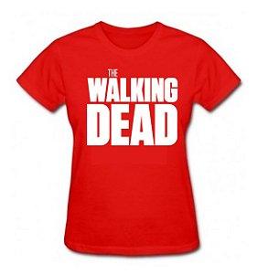 Camiseta Baby Look The Walking Dead