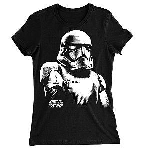Camiseta Baby Look Star Wars Stormtroopers