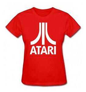 Camiseta Baby Look Atari