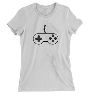 Camiseta Baby Look Controle do Game