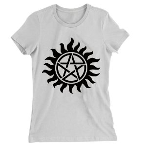 Camiseta Baby Look Supernatural