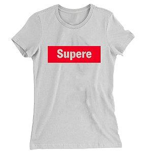 Camiseta Baby Look Supere