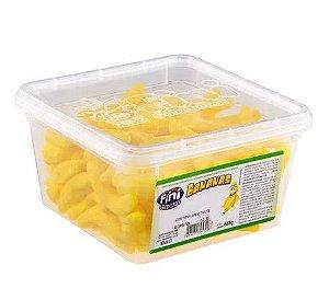 Bala Fini De Gelatina Bananas Açucaradas Pote 685g