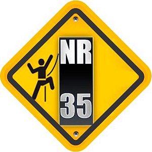 Curso de NR-35  Trabalho em Altura - 08 horas/aula