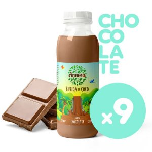 Coco Chocolate 300ml (Cx c/ 9)