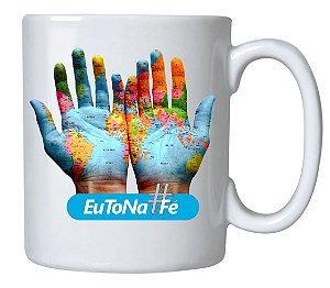 Caneca Cerâmica #EuToNaFé - 350 ML
