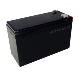 Bateria Selada 12v 7A para Alarmes e Cerca Elétrica