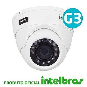 Câmera Intelbras Dome Multi HD 3120D G4 Alta Definição (1.0MP | 720p | 2.6mm | Metal)