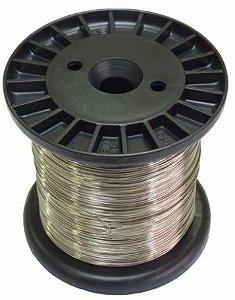 Fio de Aço Inox para Cerca Elétrica 0,70mm-900g   (240 Metro)