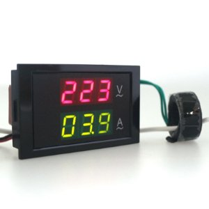 Voltimetro amperimetro AC 0- 500V 50A