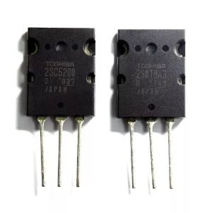 2sc5200 + 2SA1943 PAR complementar